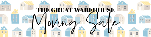 SHOP the Great Warehouse Moving Sale