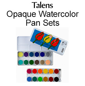 Shop Talens watercolor pan set