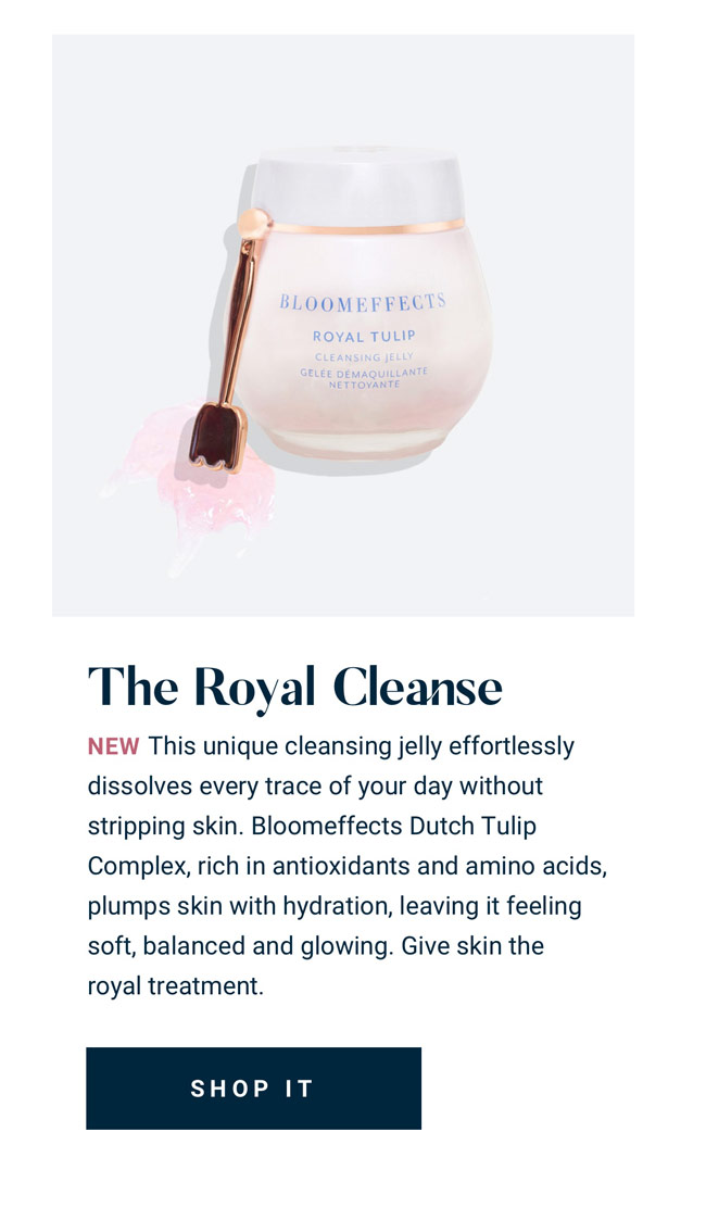 NEW Royal Tulip Cleansing Jelly
