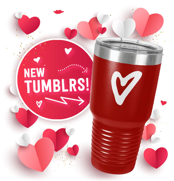 Check out our new tumblers!