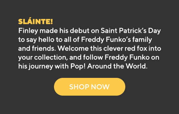 Available exclusively on Funko Shop