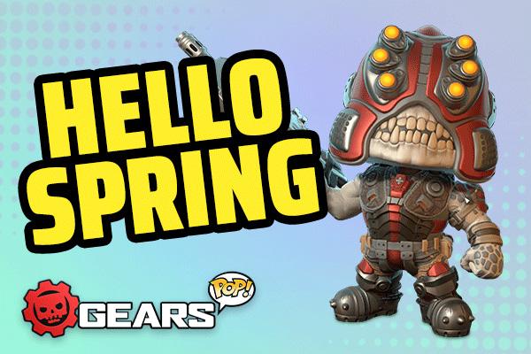 Gears of War meets Funko Pop!