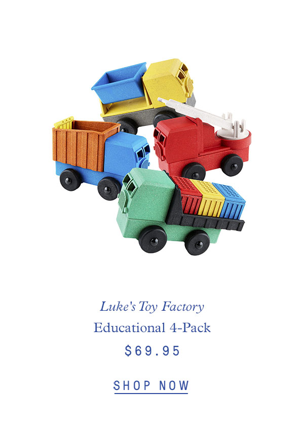 Luke's Toy Factory Educational 4-Pack $69.95