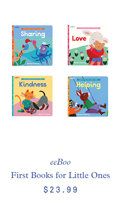 eeBoo First Books for Little Ones Bundle $23.99