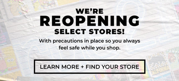 were reopening select stores
