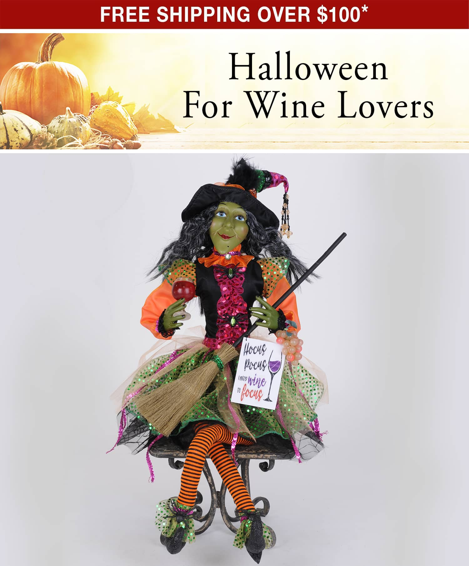 Halloween For Wine Lovers - Free Shipping Over $100*