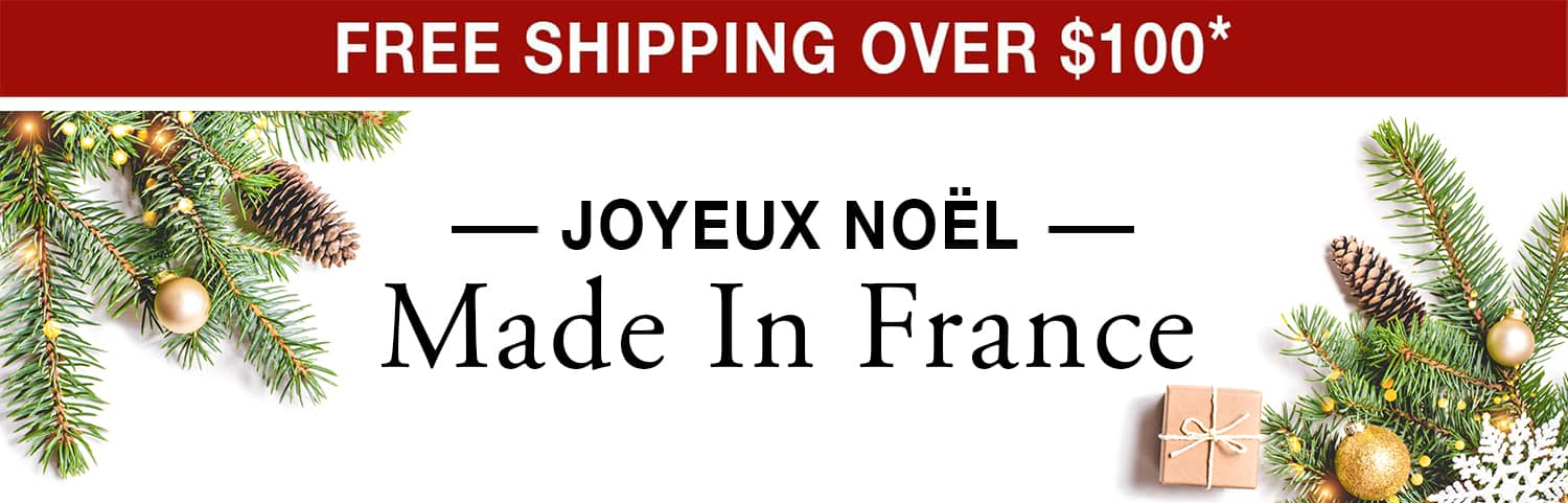 Joyeux Noel Made in France - Free Shipping Over $100 use code FS21W