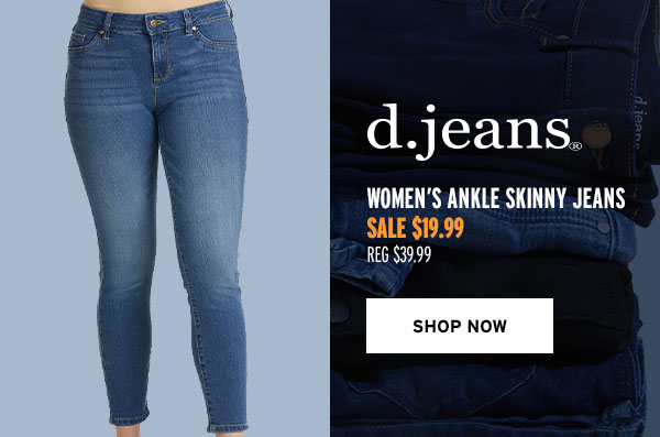 D. Jeans Women's Ankle Skinny Jeans - Click to Shop Now