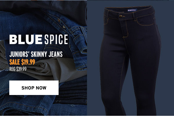 Blue Spice Juniors' Skinny Jeans - Click to Shop Now