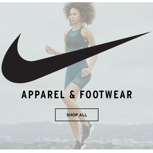 Nike Apparel & Footwear - Click to Shop All