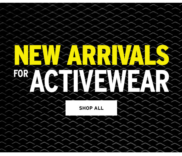 New Arrivals for Activewear - Click to Shop All