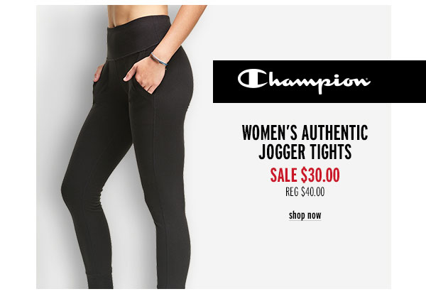 Champion Women's Authentic Jogger Tights - Click to Shop Now