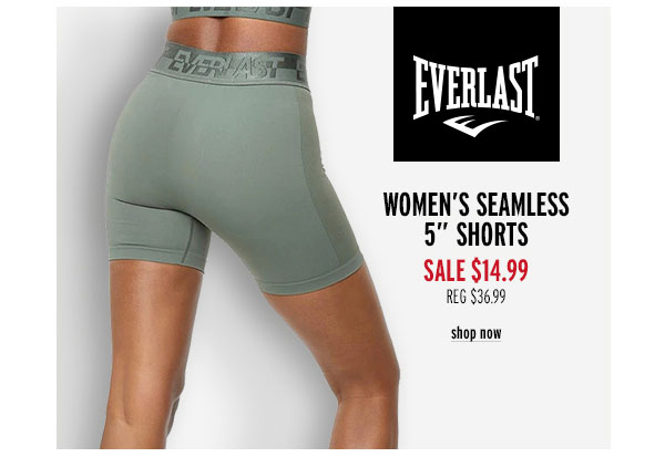Everlast Women's Seamless 5' Shorts - Click to Shop Now