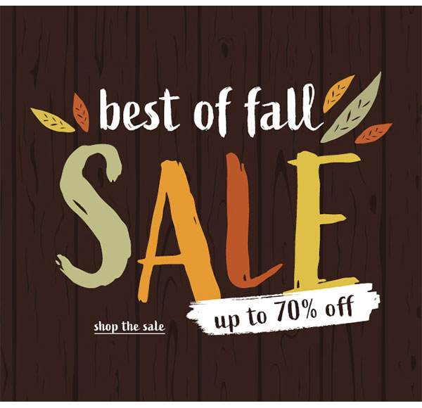 Best of Fall Sale Up to 70% OFF - Click to Shop the Sale