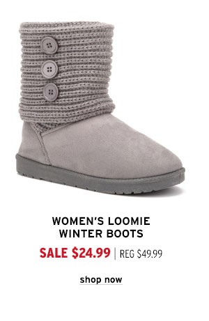Women's Loomie Winter Boots - Click to Shop Now