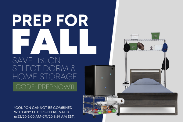 11% Off Select Dorm and Home Products - Code PREPNOW11