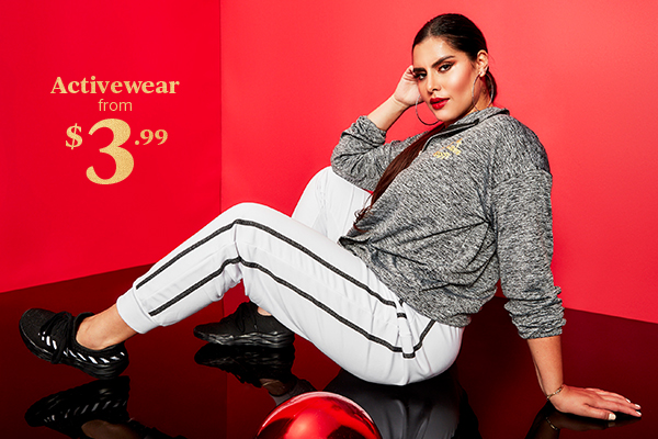 Activewear from $3.99