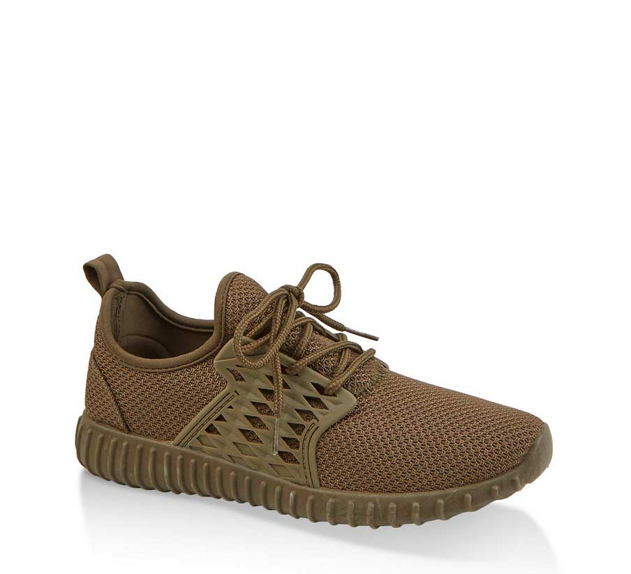 Knit Athletic Sneakers