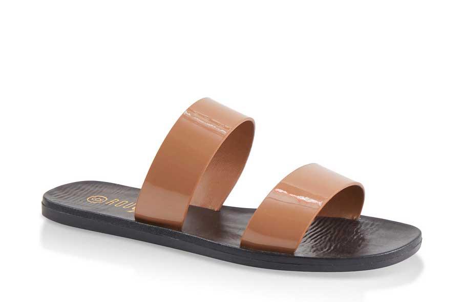 Basic Double Band Slide Sandals