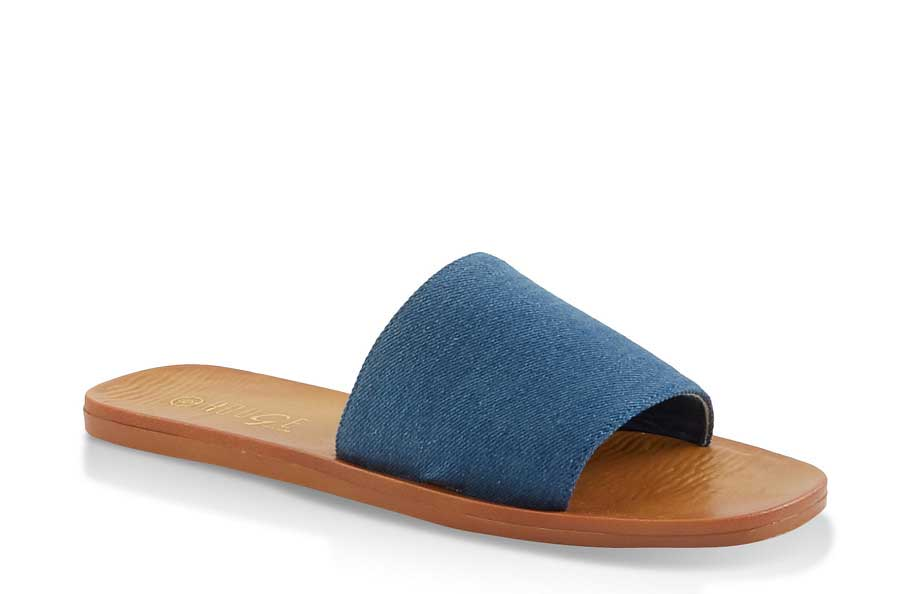Thick Single Band Slide Sandals