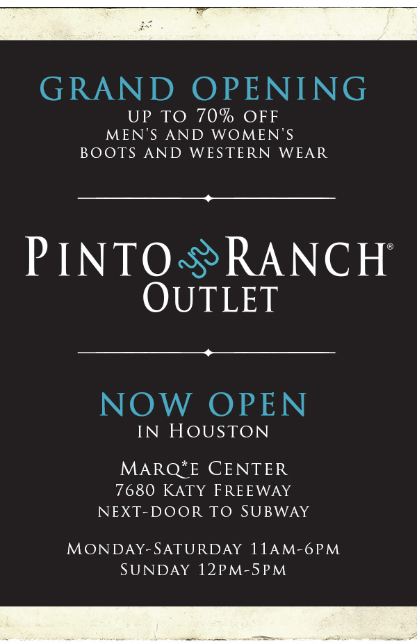 Pinto Ranch Outlet