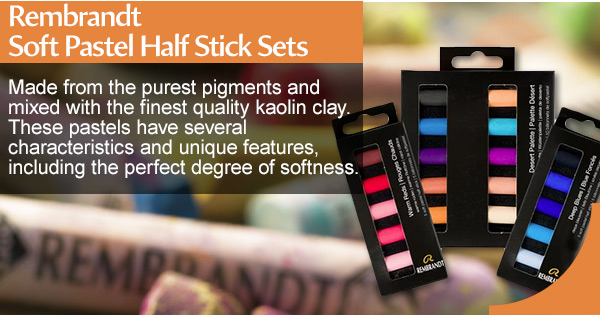 Shop Rembrandt soft pastel sticks