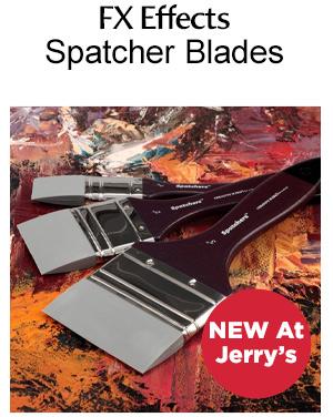 Shop spatcher blades