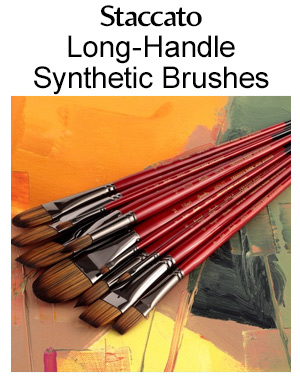 Shop staccato long handle brushes