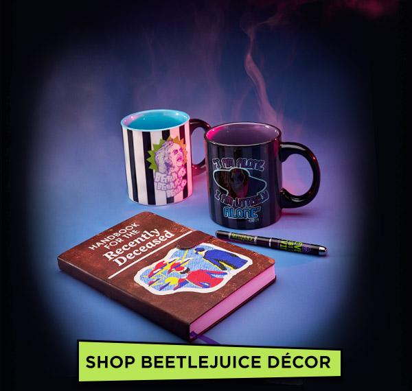 shop beetlejuice decor