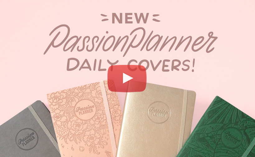 NEW! Passion Planner Daily Covers
