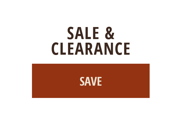 SALE AND CLEARANCE - SAVE