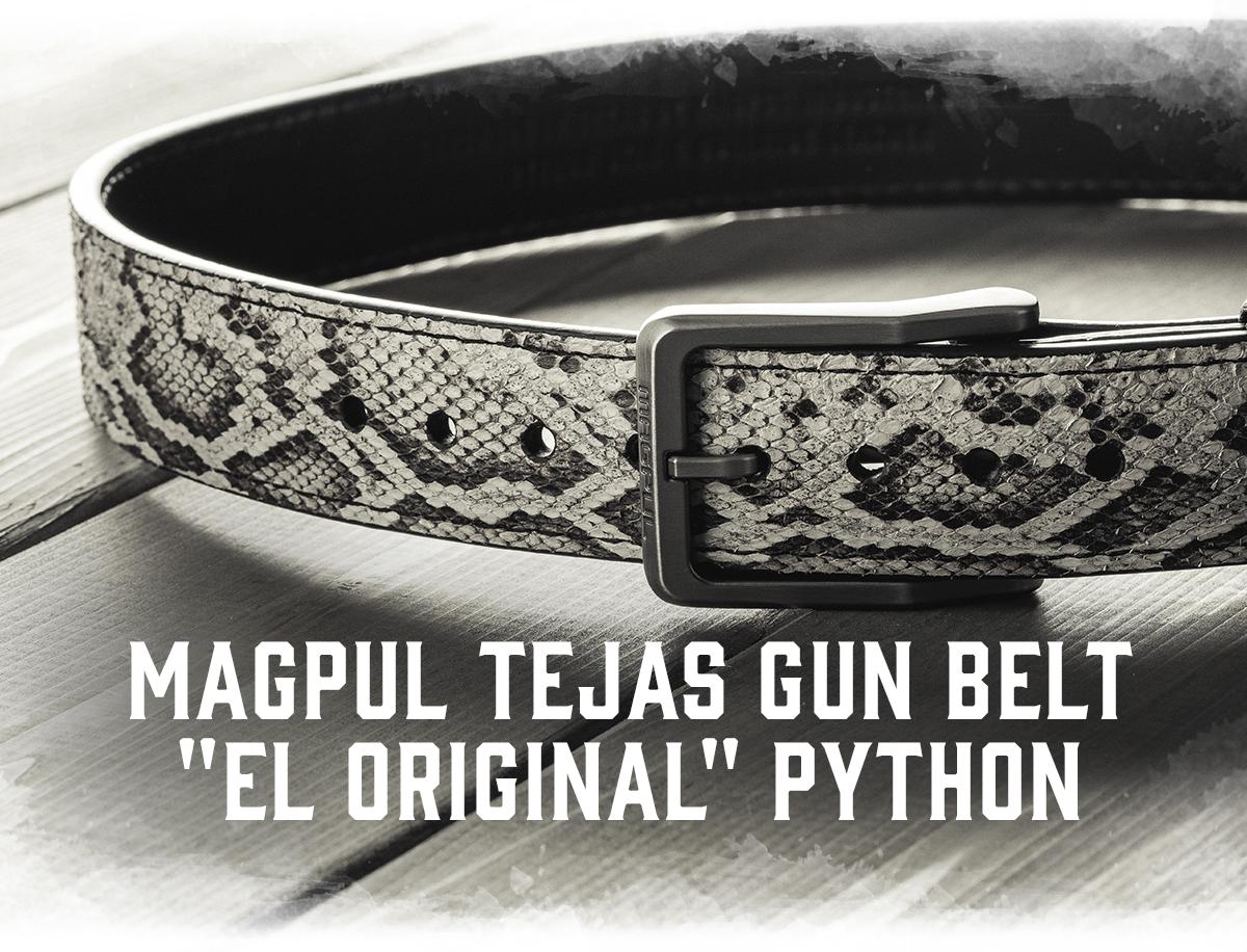 """Magpul Tejas Gun Belt - """"El Original"""" Python"""