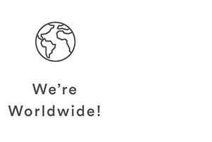 We're Worldwide