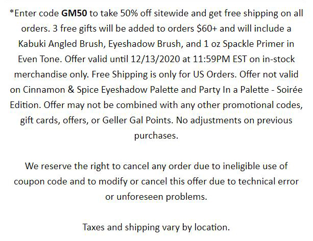 50% OFF SITEWIDE + FREE SHIPPING ON ORDERS $25+